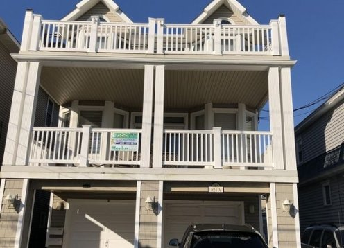 OCEAN VIEW! 6 houses to beach&boards! 4 Beach tags & wifi included